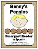 Benny's Pennies Emergent Reader in Spanish