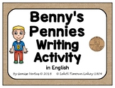 Benny's Pennies Writing Activity in English