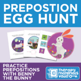 Benny the Bunny's Preposition Egg Hunt!