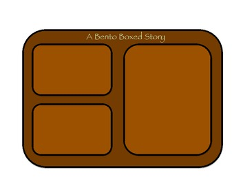 """Bento Box Your Story"" Learning the Parts of a Story/Narrative-Based Language"
