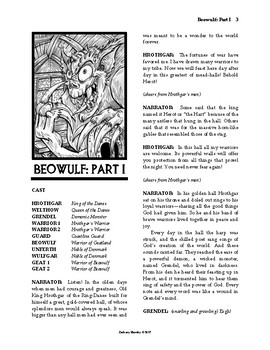 Beowulf (A Reader's Theater Script-Story Collection)