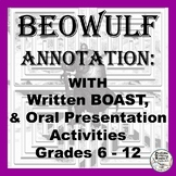 Beowulf Activities: Annotation, Written Boast, and Oral Bo