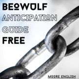 Beowulf Anticipation Guide (Fillable .pdf, Google Form, Go