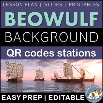 Beowulf Background QR Codes Stations