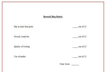 Beowulf Blog Activity-Digital Writing, Reading, & Textual Analysis