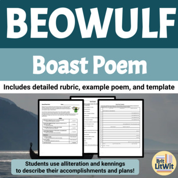 beowulf boast poem assignme by britlitwit teachers pay teachers