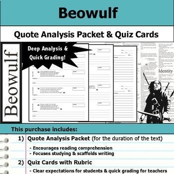 Beowulf Unit Lessons