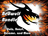 Beowulf Bundle: Resume, Rubric, Boast, Essay, Gallery Walk