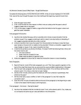 beowulf cause and effect essay peer revision sheet by everything  beowulf cause and effect essay peer revision sheet
