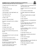 Beowulf Character & Details study guide
