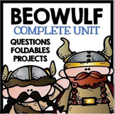 Beowulf Novel Study Unit with Questions and Activities