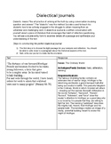 Beowulf Dialectical Journal (Heaney Translation)