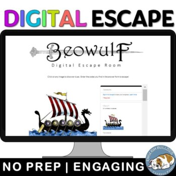 Beowulf Digital Escape Room Game: Review the Text