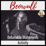 Beowulf Debatable Statements Activity