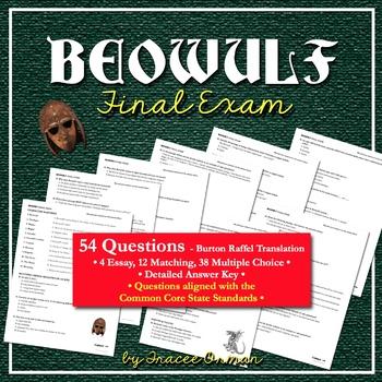 Beowulf Final Exam (Burton Raffel translation)