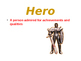 Beowulf ~ First Anglo Saxon Hero POWERPOINT