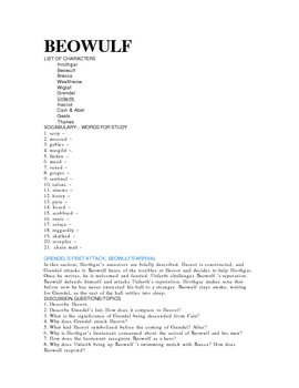 Beowulf First Blush