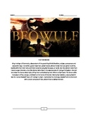 Beowulf: Full Lesson Plan/Summary/Common Core Questions/Essays/ Answer Key