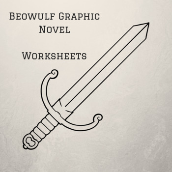 Beowulf Graphic Novel by Gareth Hinds Worksheets for Entire Book