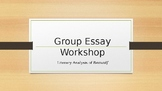 Beowulf Group Essay Guidelines PowerPoint