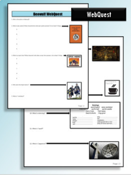 Beowulf Guided Reading Packet