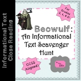 Beowulf Informational Text Scavenger Hunt