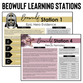 epic traits of beowulf