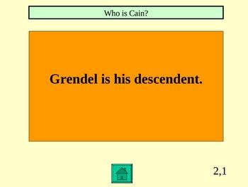 Beowulf Jeopardy Powerpoint