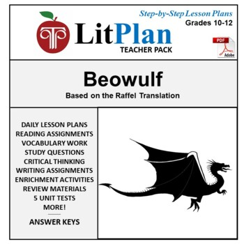 Beowulf: LitPlan Teacher Guide - Lesson Plans, Questions, Tests