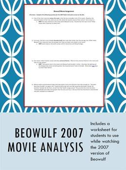 Beowulf Movie Analysis