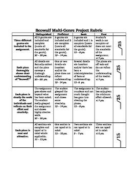 Beowulf Multi-Genre Project