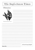 Beowulf Obituary Worksheet - Extension Activty (Post-Reading)