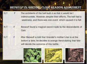 Beowulf Oral Tradition PowerPoint