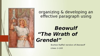 "Beowulf Part 1 ""The Wrath of Beowulf"" Paragraph"