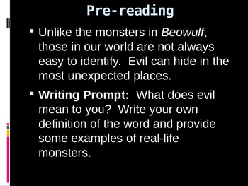 Beowulf (PowerPoint)