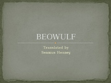 Beowulf Pre-Reading Overview