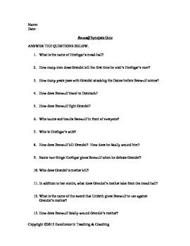 Beowulf Quiz