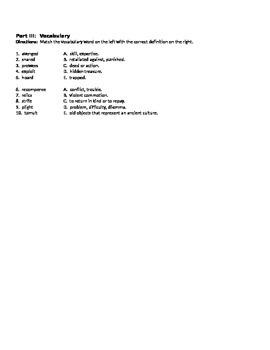 Beowulf Comprehension Quiz 3 Lines 1924-3182 (end)