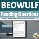 Beowulf Reading Questions/Study Guide (Seamus Heaney Version)
