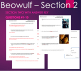 Beowulf - Section 2 Questions with ANSWER KEY #1-10