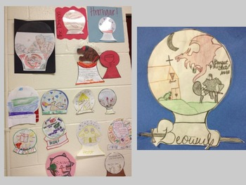 Beowulf (Snow Globe Activity or Alt. Assessment)