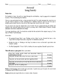 Beowulf Song Parody Activity Assessment Kennings Scops EDITABLE