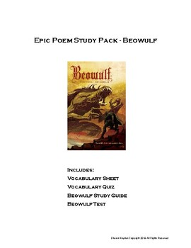 Beowulf Study Pack