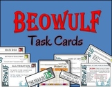 Beowulf: Task Cards for Your Classroom Literary Terms, Ang