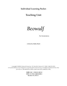 Beowulf Teaching Unit
