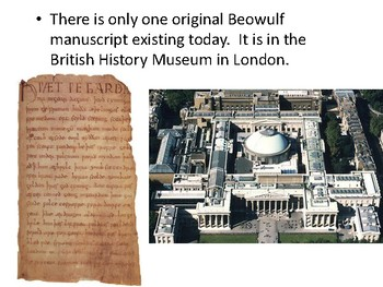 Beowulf Overview Presentation & Student Notes