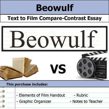 Beowulf - Text to Film - Compare & Contrast Essay Bundle