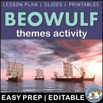 Beowulf Themes Textual Analysis Activity