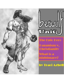 Beowulf Unit *BUNDLE*: Scripted Activities, Handouts, and Optional Assignments
