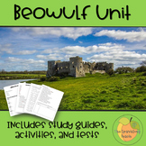 Beowulf Unit - Includes study guides, activities, and tests